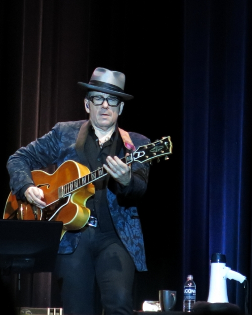 Elvis Costello unamplified