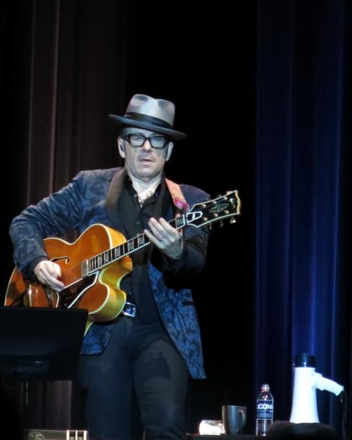 Elvis Costello unamplified