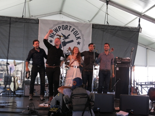 The Lone Bellow at Newport Folk Festival 2013