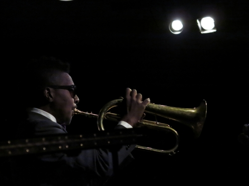 Roy on flugelhorn