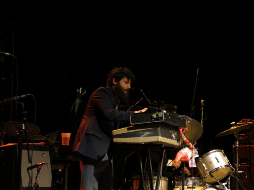 Charles Bradley and His Extraordinaires with flamingo