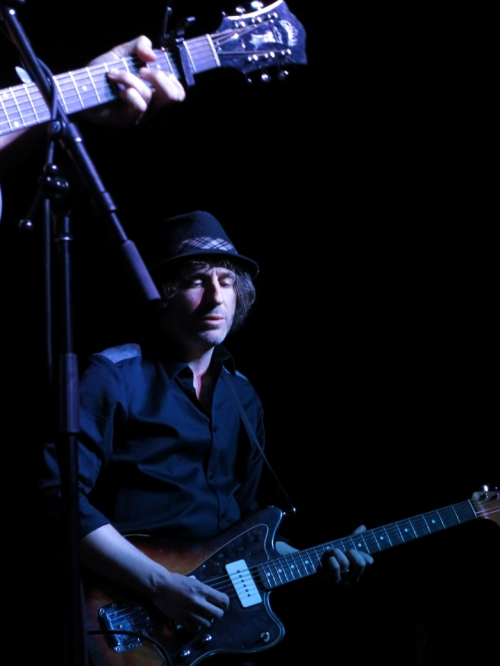 Joe Pug's electric guitarist (originally from New Zealand)