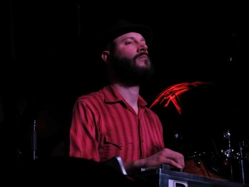 Joe Pug's pedal steel player