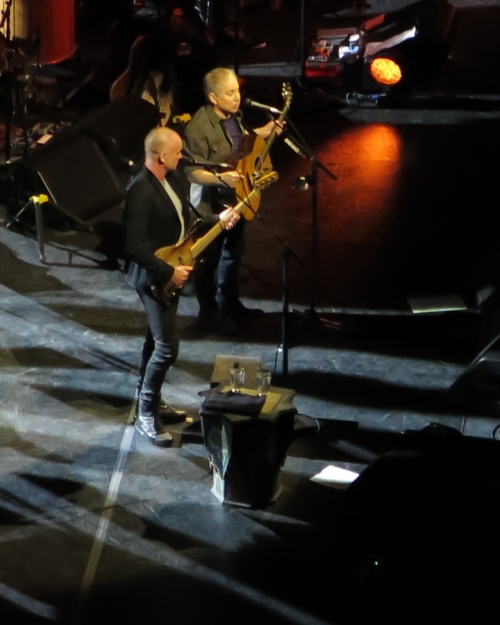Sting and Paul Simon