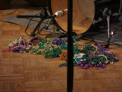 Mardi Gras beads!!!