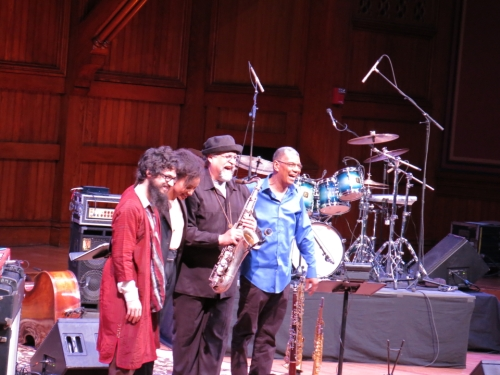 Leo Genovese, Esperanza Spalding, Joe Lovano, Jack DeJohnette (l to r)