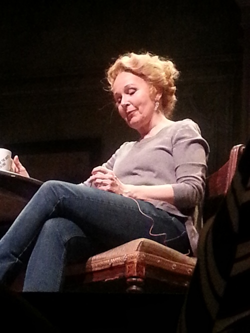 Kate Burton (after the show)