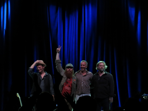 Southern Soul Assembly (Luther Dickinseon, Marc Broussard, JJ Grey, and Anders Osborne, l to r)