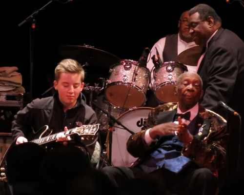Quinn Sullivan and BB King