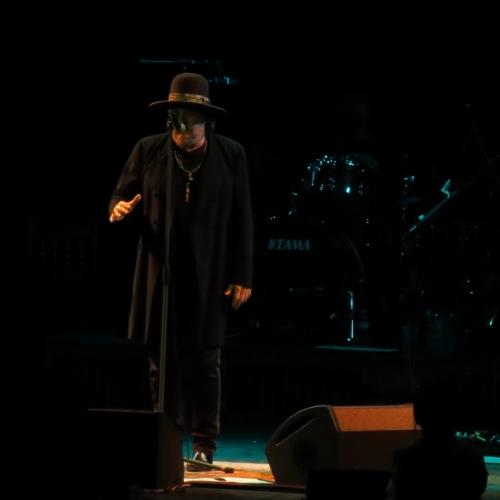 Zucchero during the Pavarotti tribute