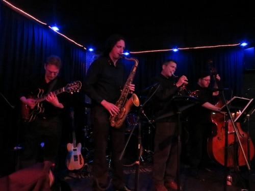 Brad Ellenberg Quintet (although Grant isn't visible in this shot)
