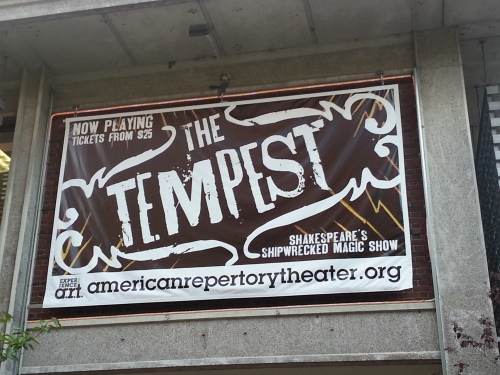 The Tempest marquee