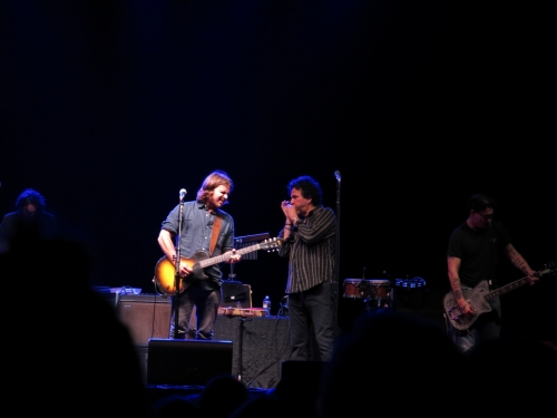 Lukas Nelson with Mickey Raphael