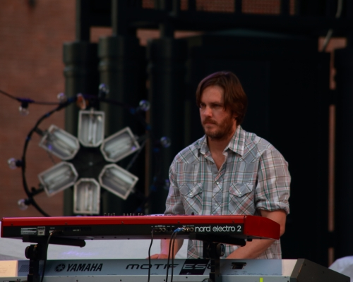 "Matt ""Pizzle"" Pierce - guitar Eric ""Carlos San Pedro"" Carlton - keys Ryan ""Rando"" Rogers - drums Stuart ""StuBaby"" Cole - bass"