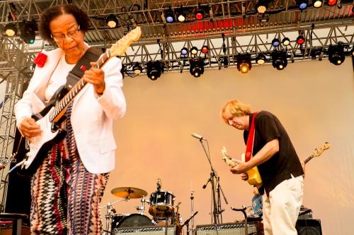 Beverly Guitar Watkins and Tim Duffy