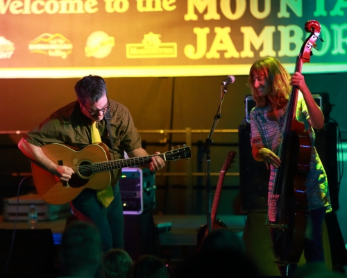 Larry Keel and Jenny Keel