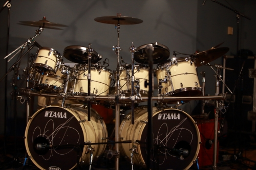 Billy's drum set
