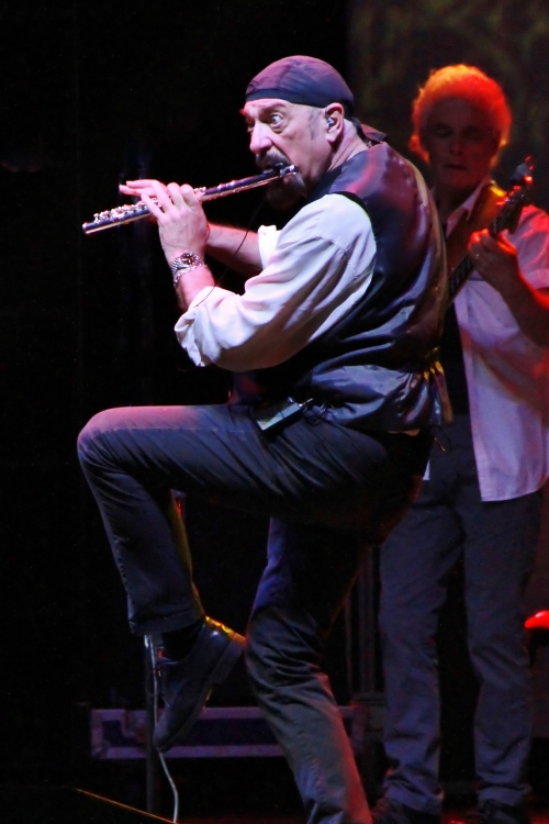 Ian Anderson's Iconic Stance (photo by Martin Webb)
