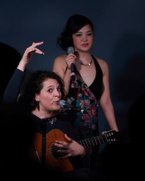Giorgia and Ayumi