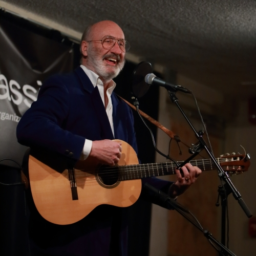 Noel Paul Stookey at Club Passim, January 11, 2015