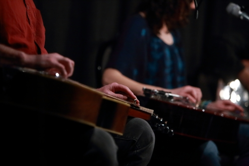 The Dobro Hands of Jim Henry and Abbie Gardner