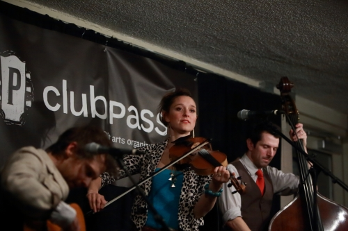 Suz Slezak (with David Wax and Corey DiMario)