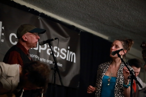 Alan Kaufman and Suz Slezak Yodeling