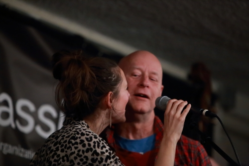 Suz Slezak with her father David Slezak