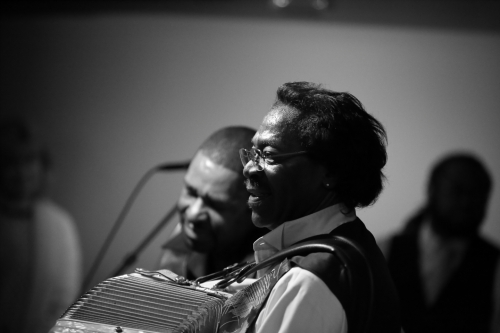 Buckwheat Zydeco and Reginald Duval