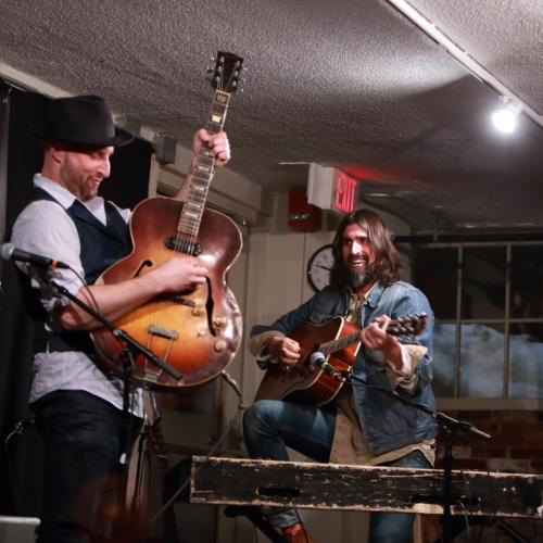 Seth Walker and Ed Jurdi