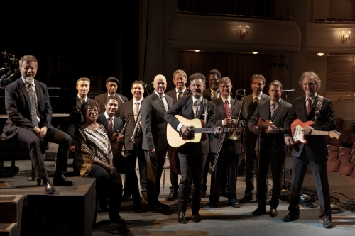 Lyle Lovett and His Large Band with Francine Reed (Official Photo)