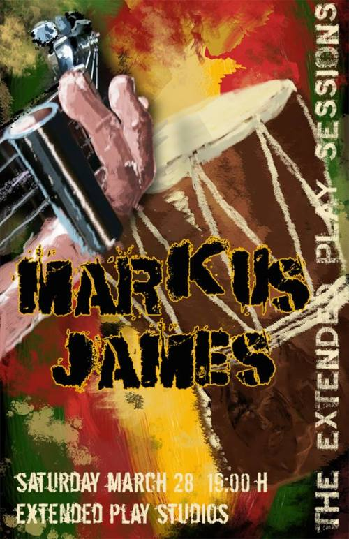 Markus James (Official Poster)