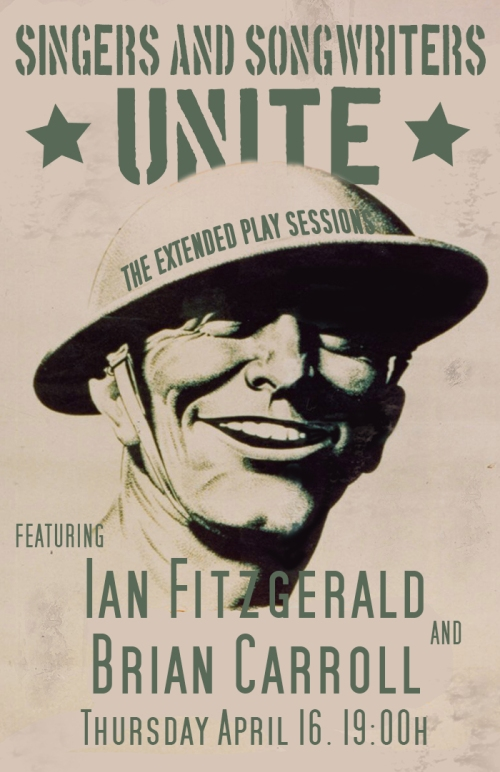 Ian Fitzgerald and Brian Carroll (Official Poster)
