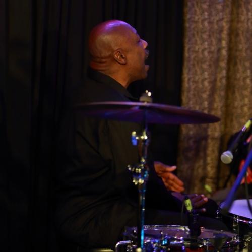 Marlon Green 'drumming' on his leg