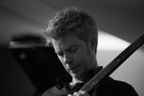 Kyle Eastwood (this shot best shows the resemblance to his father)