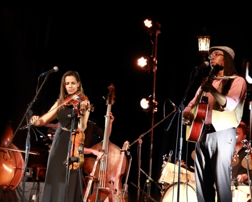 Rhiannon Giddens and Hubby Jenkins