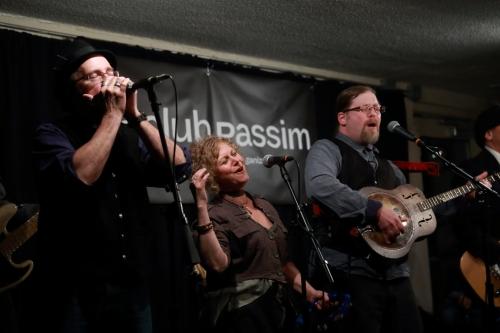 James Meigs, Beth Jamie Kaufman and Mark Miller of Spuyten Duyvil