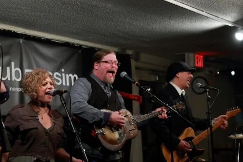 Beth Jamie Kaufman, Mark Miller and Ric Mercaldi of Spuyten Duyvil
