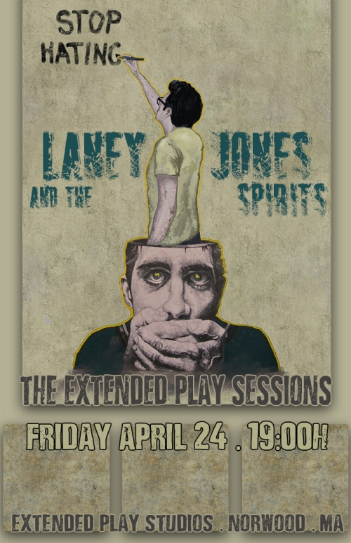 Laney Jones and the Spirits (Official Poster)