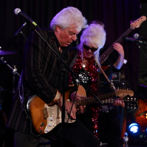 Christine Ohlman and Rebel Montez