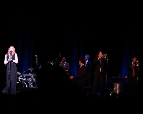 Pink Martini (half the band)