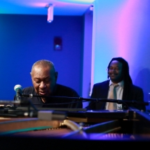Freddy Cole and Quentin Baxter
