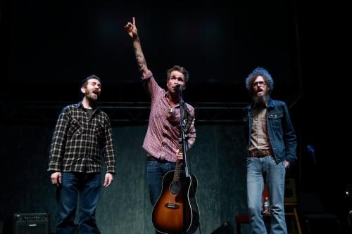 Dan Blakeslee, Joe Fletcher, Ian Fitzgerald (l to r)
