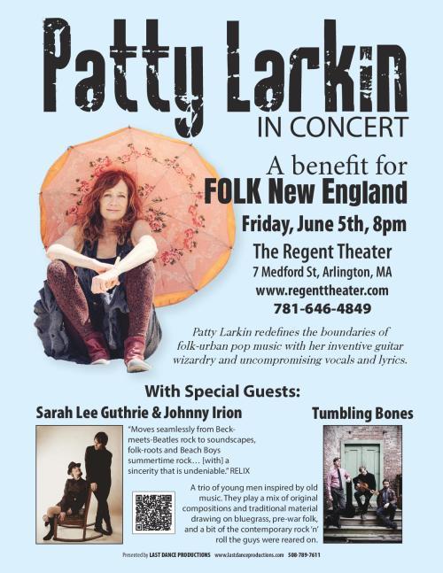 Folk New England Fundraiser Poster