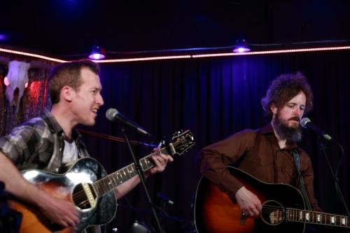 Brian Carroll and Ian Fitzgerald