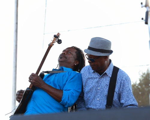 Vernon Black and Booker T. Jones