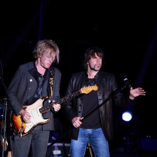 Kenny Wayne Shepherd and Noah Hunt