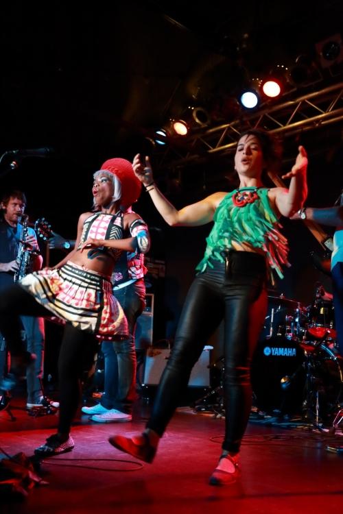 Zolani Mahola and Kyla-Rose Smith