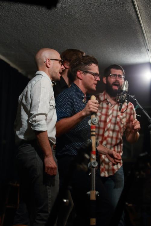 Brian Dickel, Trent Wagler, Eric Brubaker, Jay Lapp