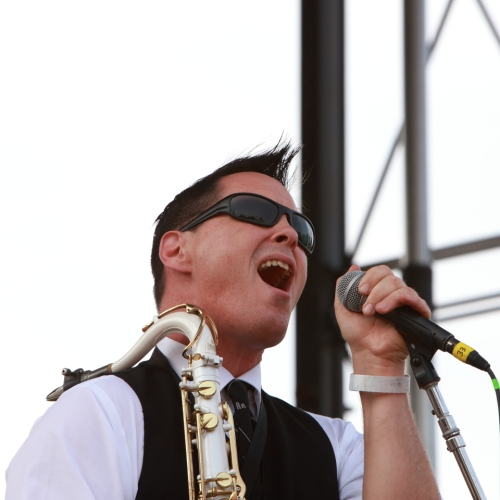 Clint Maedgen of Preservation Hall Jazz Band